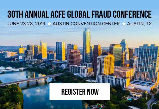Register Now for the 30th Annual ACFE Global Fraud Conference