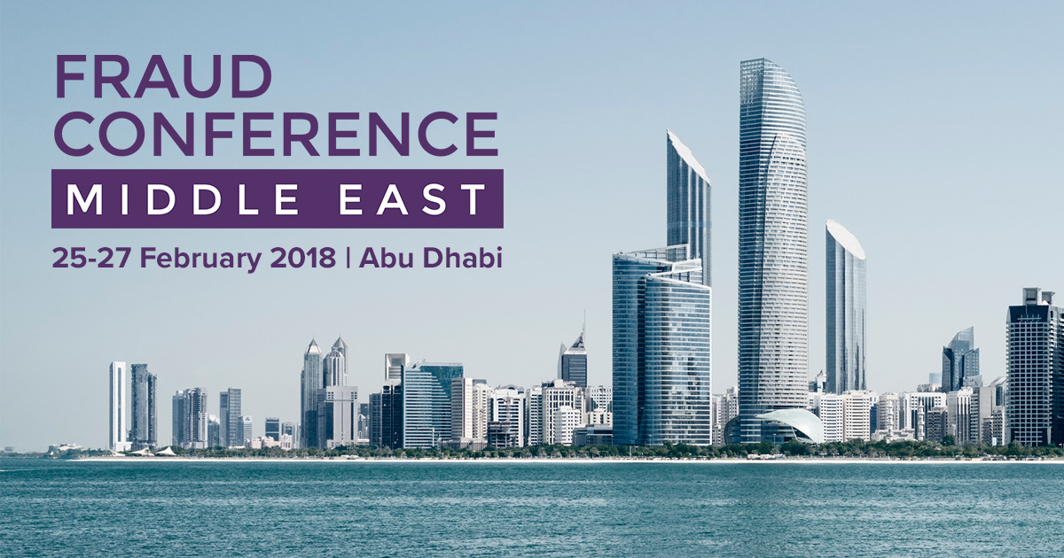 2018 ACFE Fraud Conference Middle East