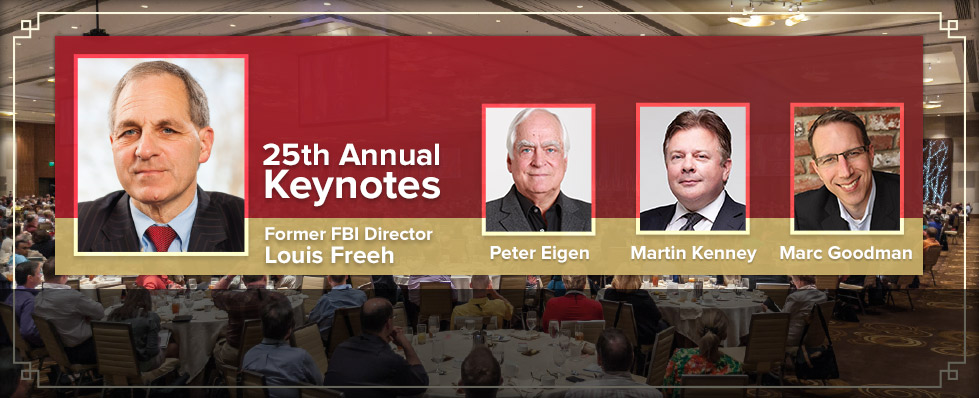 Catch the coverage of this year's keynote speakers