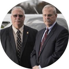 Steve Murphy and Javier Pena